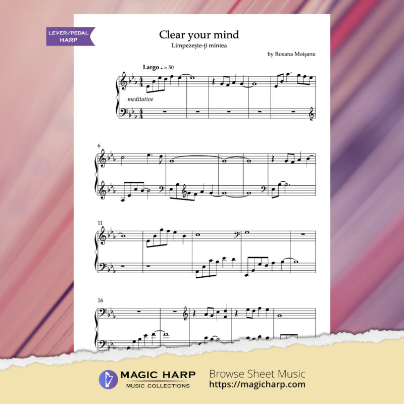 Clear your mind by Roxana Moișanu (Eb major) - preview