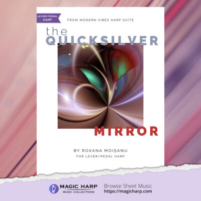 Modern Vibes Suite - The quicksilver mirror by Roxana Moișanu - cover