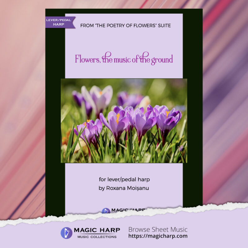 The poetry of flowers Suite - Flowers music of the ground by Roxana Moișanu - cover