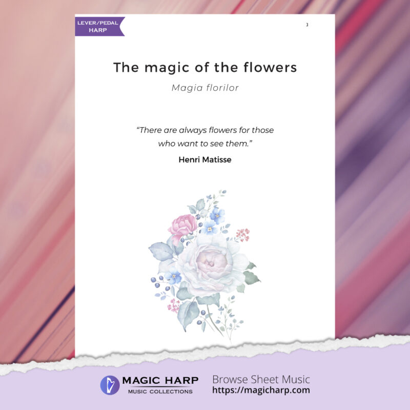 The poetry of flowers Suite - The magic of the flowers by Roxana Moișanu - preview 2
