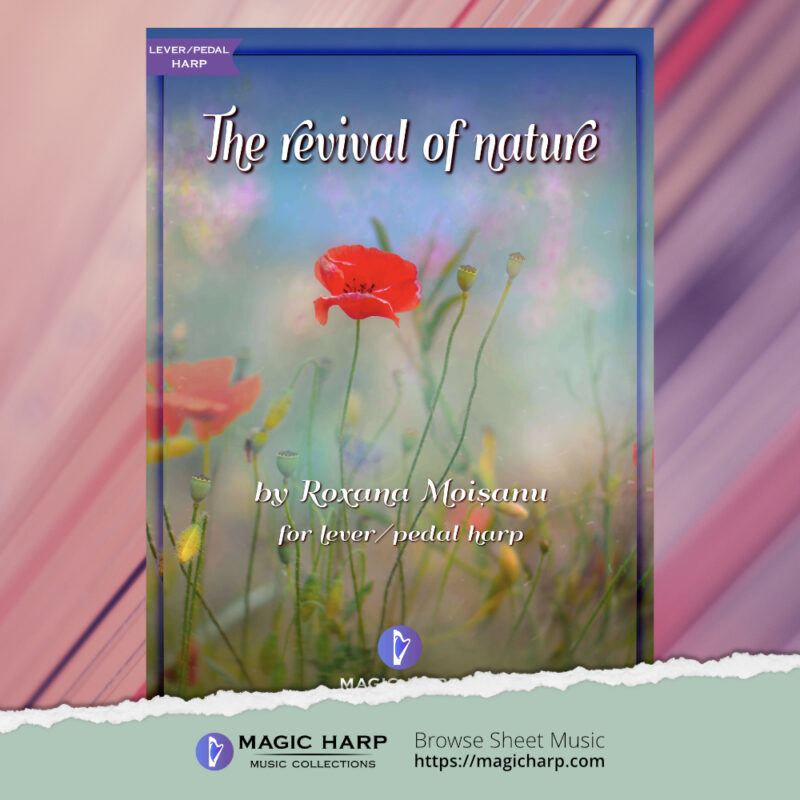 The revival of nature by Roxana Moișanu - cover