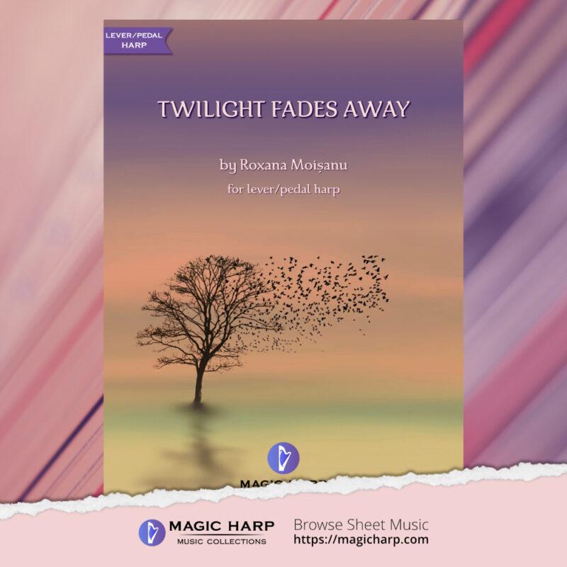 Twilight fades away by Roxana Moișanu - cover