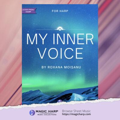 My inner voice by Roxana Moișanu • magicharp.com•Magic Harp Music Collections-cover