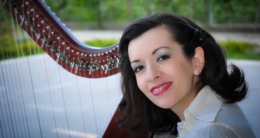 Magic Harp Music Collections - Harpist and Composer Roxana Moișanu