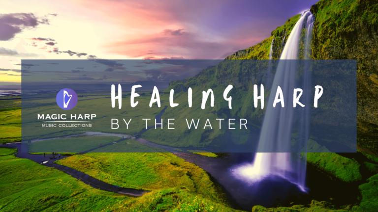 Healing harp by the water - magicharp.com