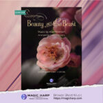 Beauty and the Beast arr for LEVER harp by Roxana Moișanu • magicharp.com - cover