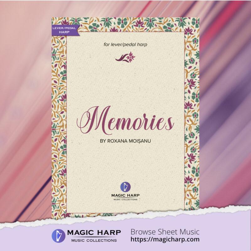 Memories for harp by Roxana Moișanu • magicharp.com - 1