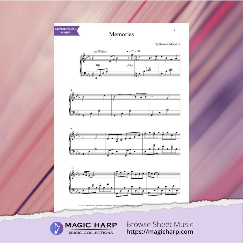 Memories for harp by Roxana Moișanu • magicharp.com - 4