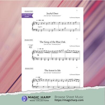 Enchanted Forest for harp by Roxana Moișanu • magicharp.com_3