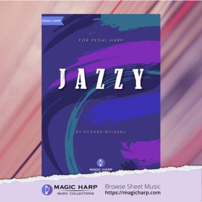 Jazzy for harp by Roxana Moișanu • magicharp.com - 1