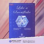 Like a snowflake for harp by Roxana Moișanu • magicharp.com - 1